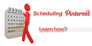 Scheduling pins on pinterest