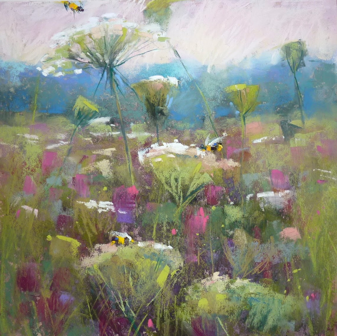 Painting My World IAPS 2015How To Paint Wildflowers In The