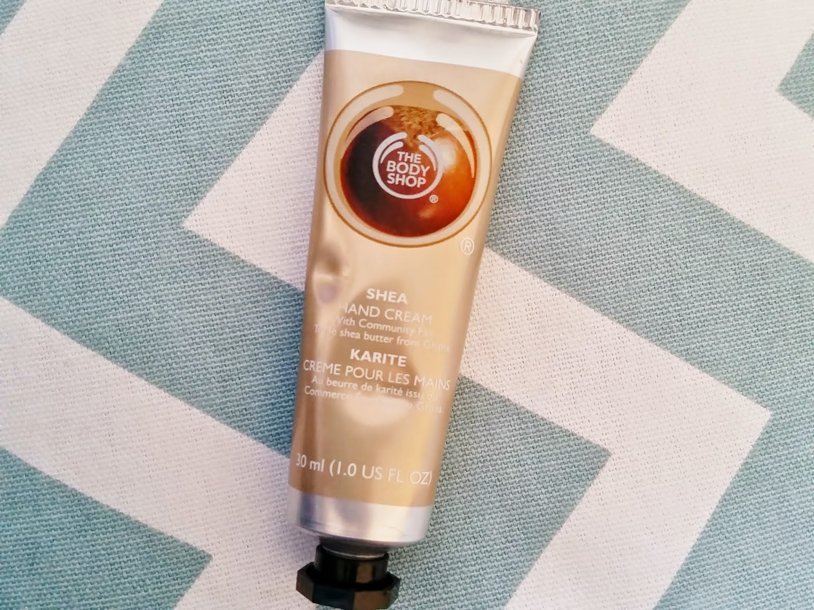 the body shop shea handcream
