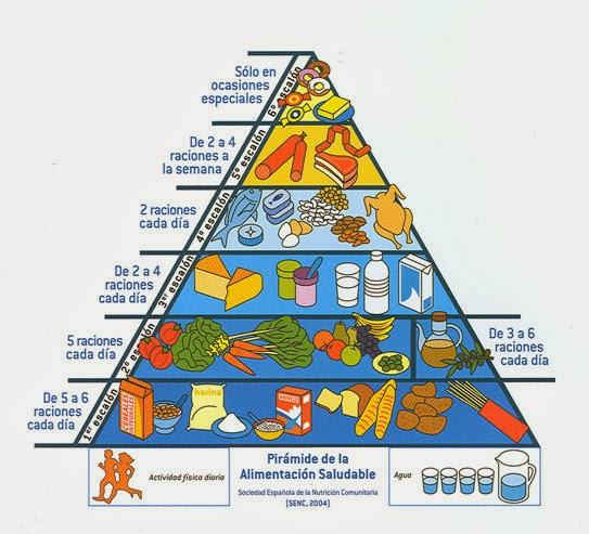 S ndrome v mitos c clicos vivencias la pir mide de la alimentaci n saludable - Piramides de alimentos saludables ...