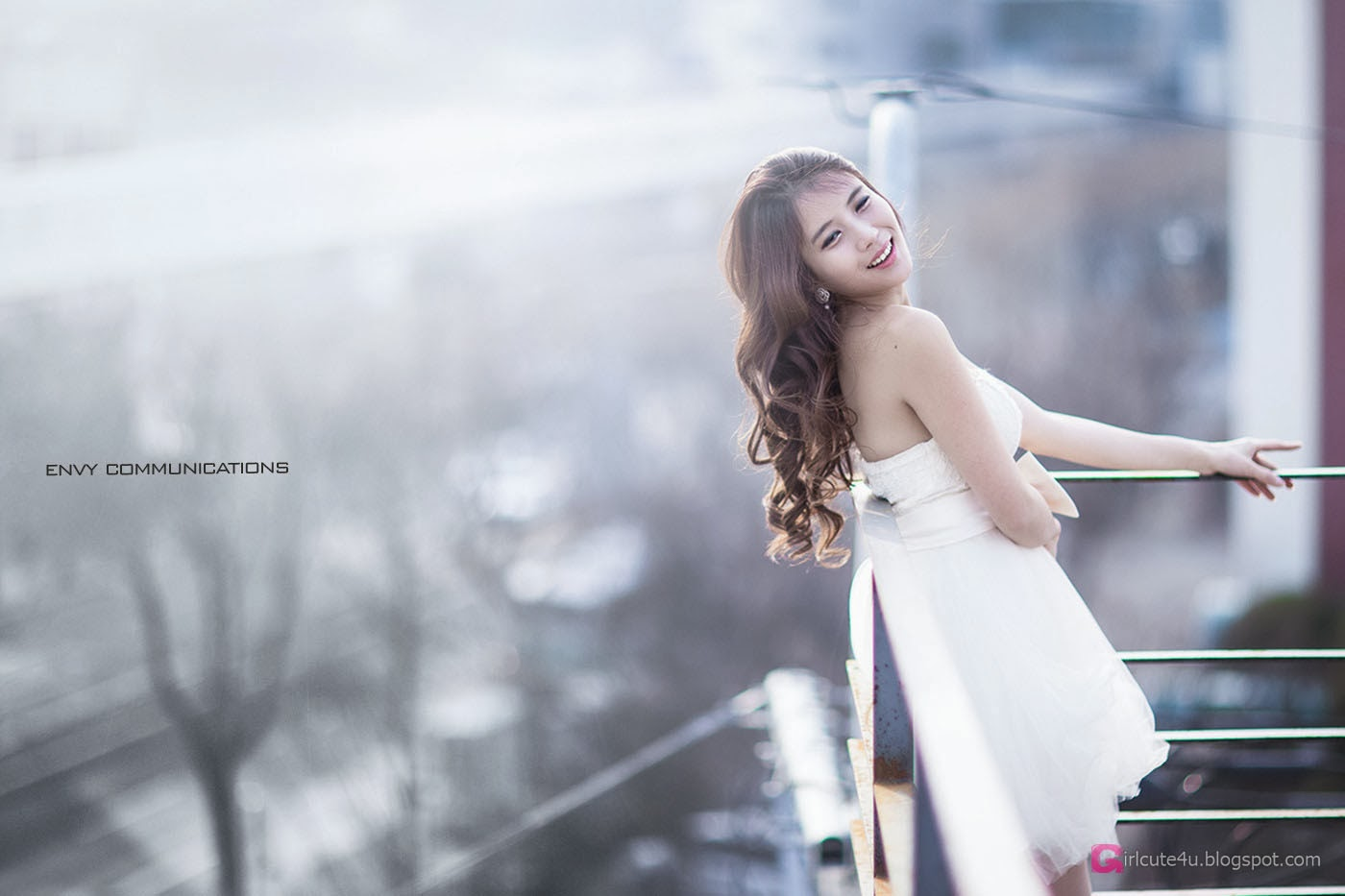 4 Cha Jung Ah - Up On The Roof - very cute asian girl-girlcute4u.blogspot.com