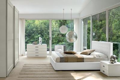 dormitorio matrimonial color blanco