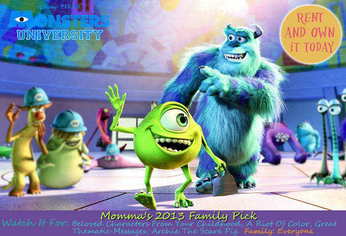 Monster's University Must See 2013