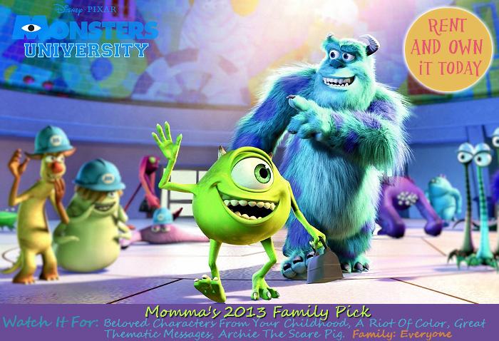 Monster's University Must See 2013