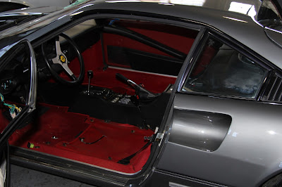 Cooks Upholstery And Classic Restoration Auto Upholstery Bay Area Ferrari 308 Seat
