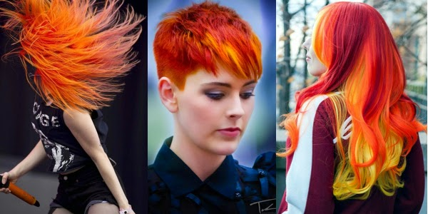 and fire means passion! Enjoy our gallery with hairstyles with fire ...