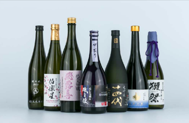 JAL new sake lineup for international First Class