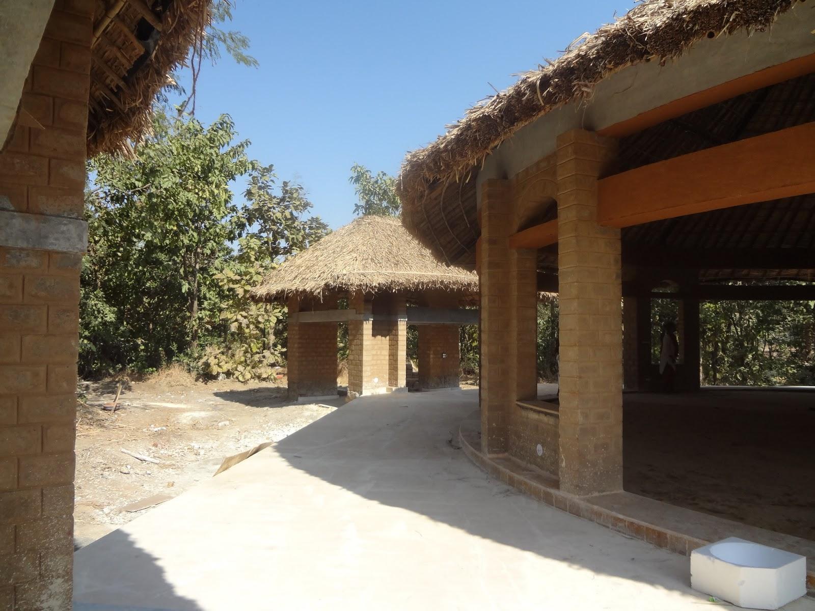 Yoga Hall For Iskcon Girgaum In Galtere Village Biome