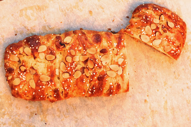 Danish Braid with Apricot and Confectioner's Cream Filling | TWD