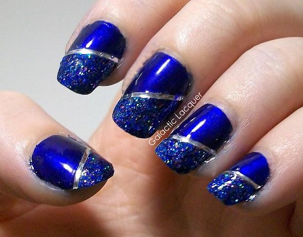 galactic lacquer nail art