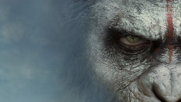 Caesar Dawn of the Planet of the Apes. HD