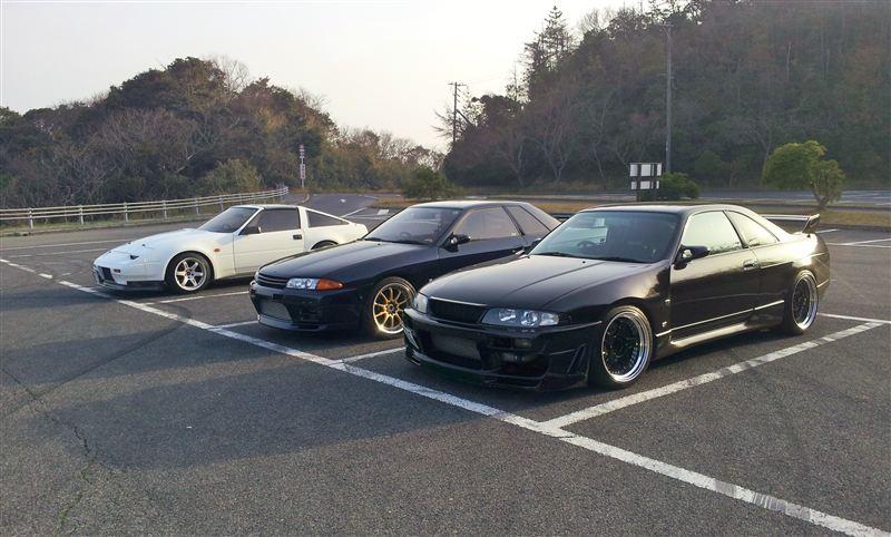 Nissan Fairlady Z, Nissan Skyline R32 & R33, fajne sportowe auta, japońska motoryzacja