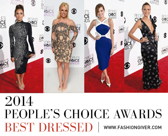 People's Choice Awards Best Dressed