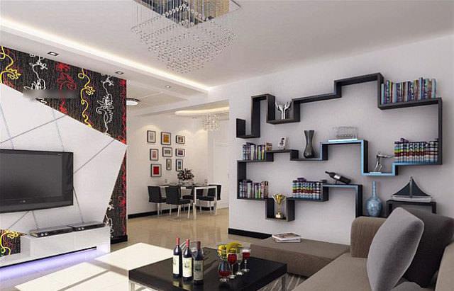 100个房间背景墙,太漂亮了!