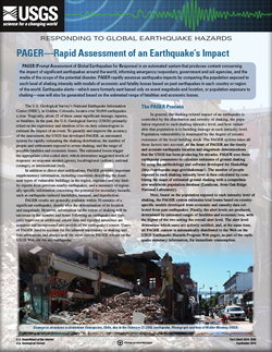 PAGER - Rapid Assessment of an Earthquake's Impact