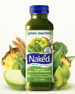 "An Onion Exposed: Naked Inspired ""Green Machine"" Smoothie"