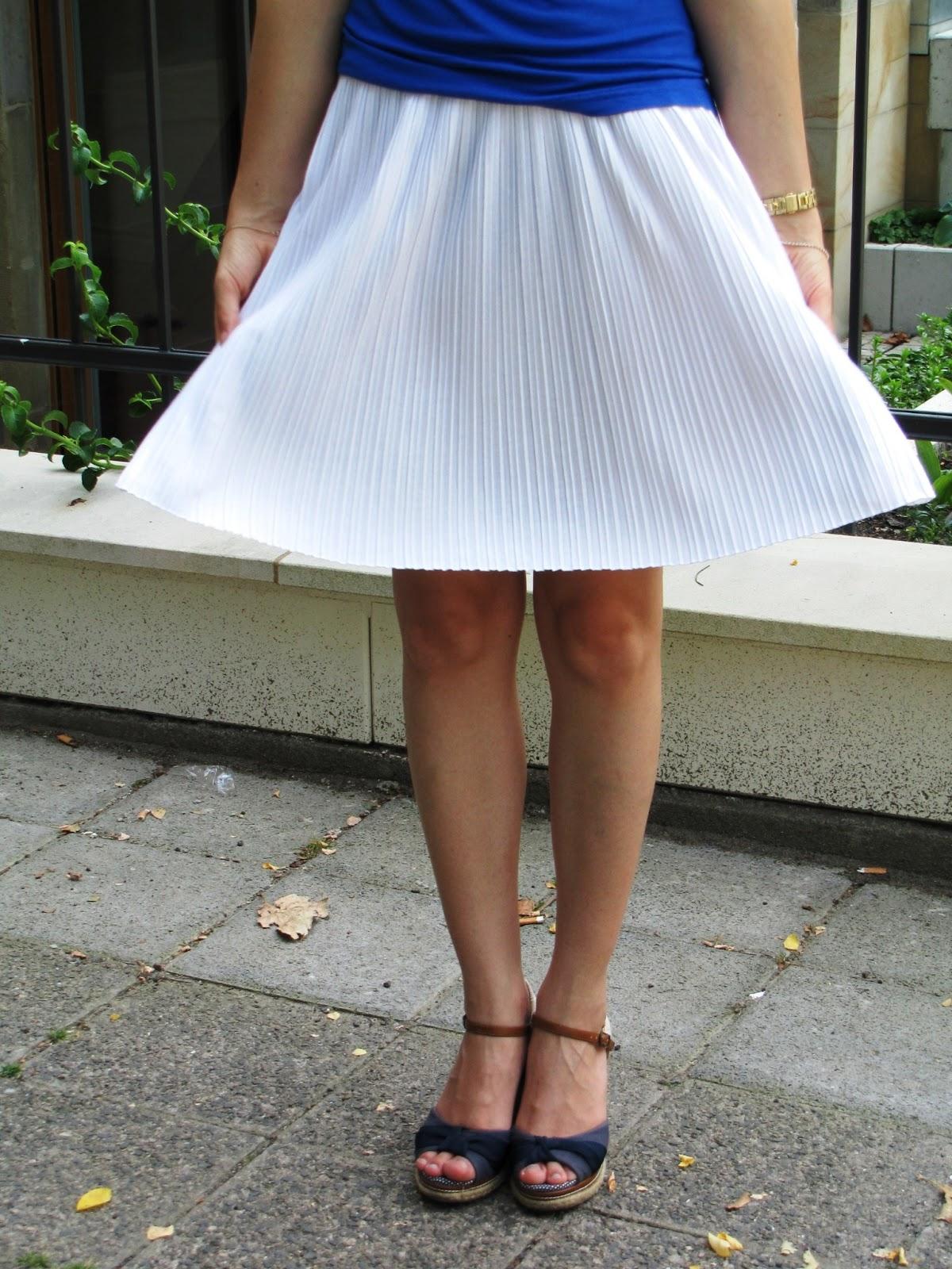 Esprit weißer Rock, white skirt Esprit
