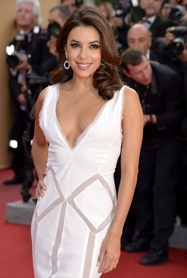 EVA LONGORIA dazzling at Cannes Film Festival red carpet 2012