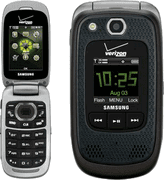 Samsung Convoy 2 rugged clamshell phone for Verizon