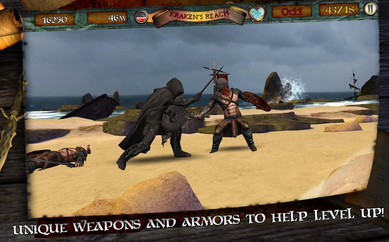 Screenshot Infinite Warrior Android