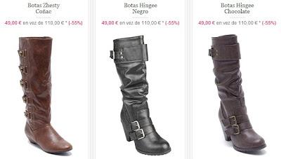 Botas para mujer baratas