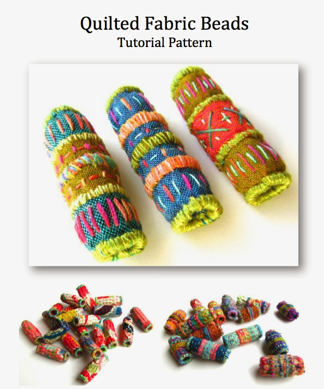 The Silly BooDilly: Quilted Fabric Bead Tutorial Pattern