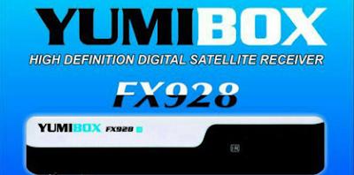 Atualizacao do receptor Yumibox FX928 V1.3.3