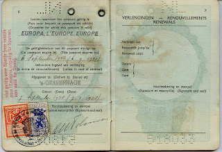 Pre WW2 Dutch passport