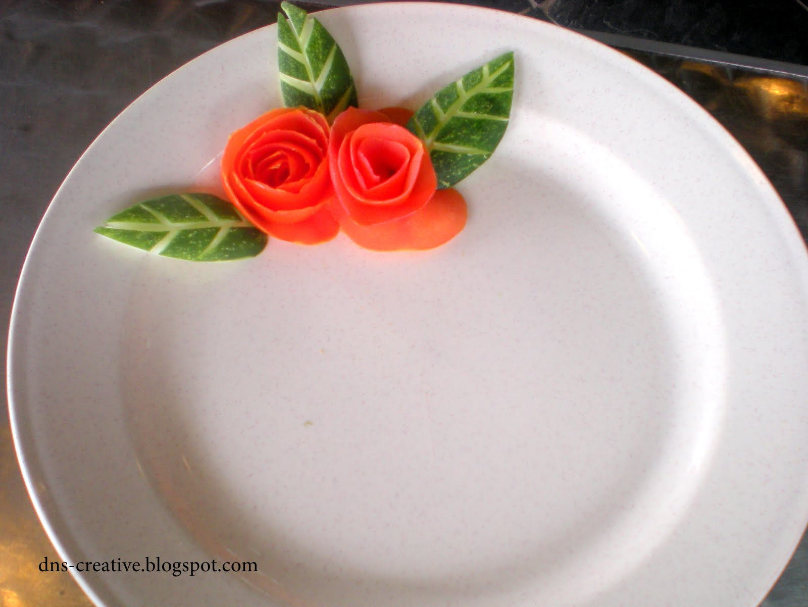 ... how to decorate your plate before serving your meal. Well.. It doesn\u0027t take that much effort and time but able to give an additional point to your meal. & Plate Decoration Idea | dNS-creative