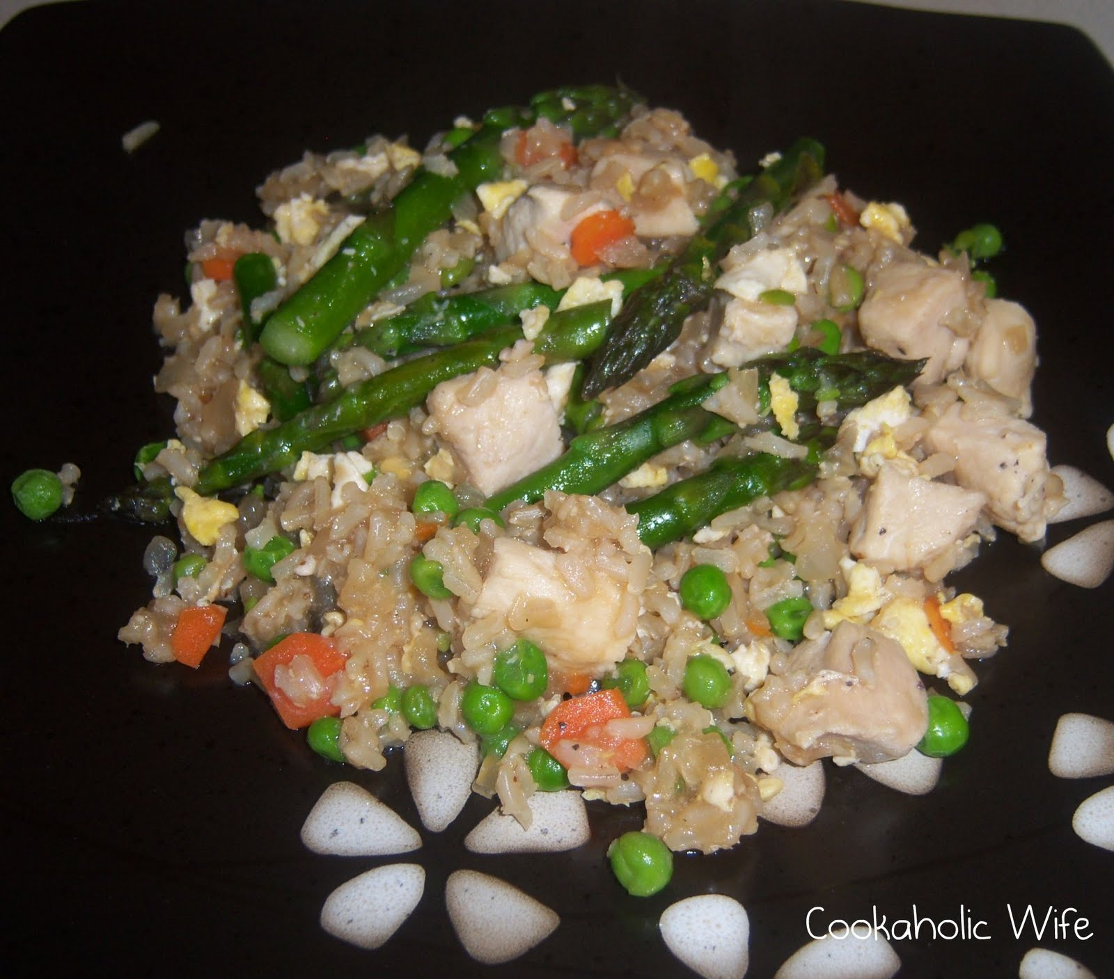 Cookaholic wife recipe swap chicken fried rice this recipe comes from lisa at tastetastic voyage she found the recipe on recipe zaar forumfinder Gallery
