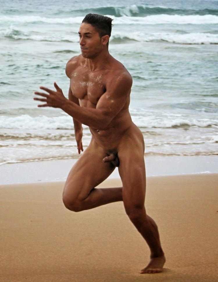 male asian nude beach