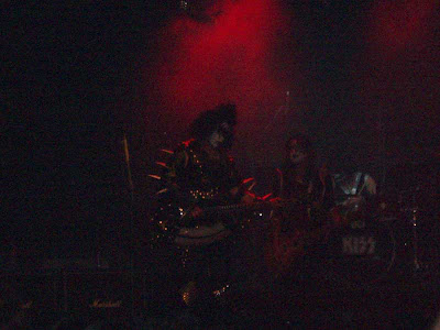 The Love Guns were performing as KISS and they had the music and the look down great.