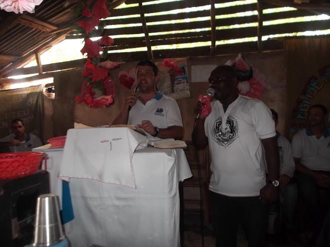 Pregação no Haiti