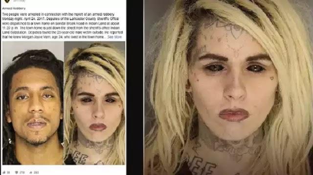 Η τρομακτική φωτογραφία σύλληψης γυναίκας που έγινε viral