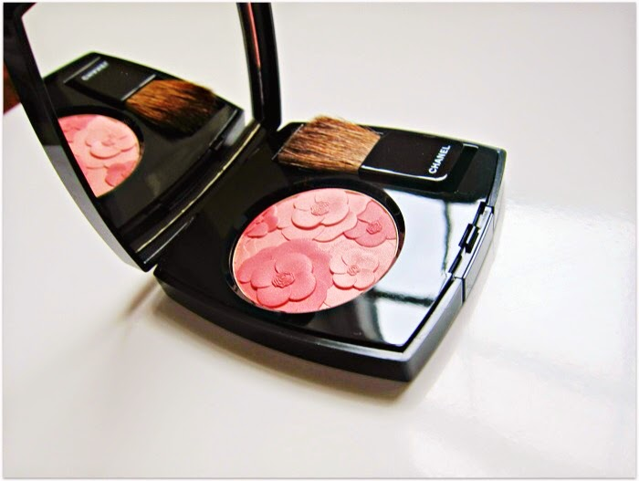 ardin de Chanel Blush in Camelia Rose, Spring Makeup 2015