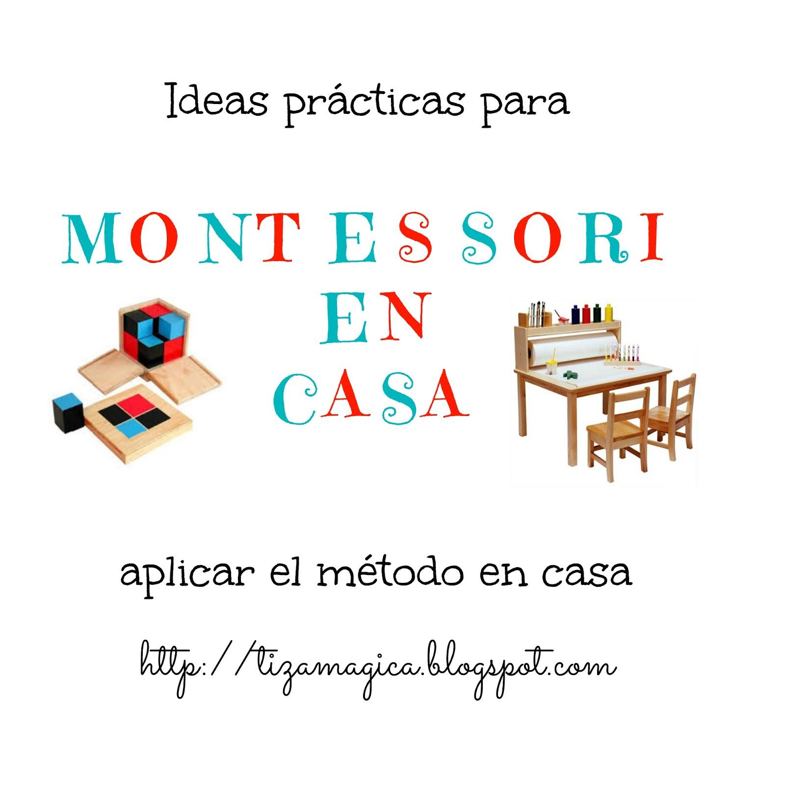 Cómo aplicar Montessori en casa (III)