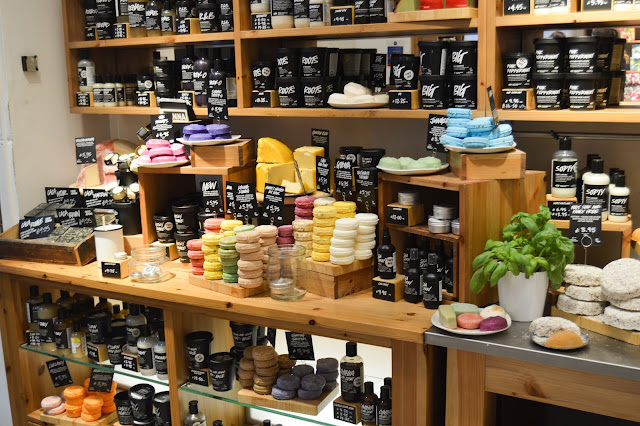 Lush Chester VIP Blogger Event Haircare