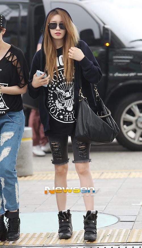 airport fashion tara jiyeon official korean fashion