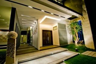 teras dekor rumah minimalis indah