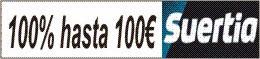 Suertia - hasta 100€ gratis