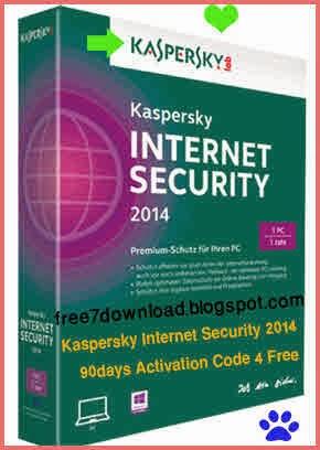 Kaspersky Internet Security 2014 Activation Code