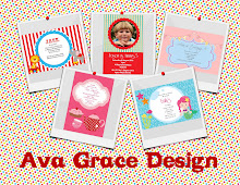 Ava Grace Design - Personalised printable partyware