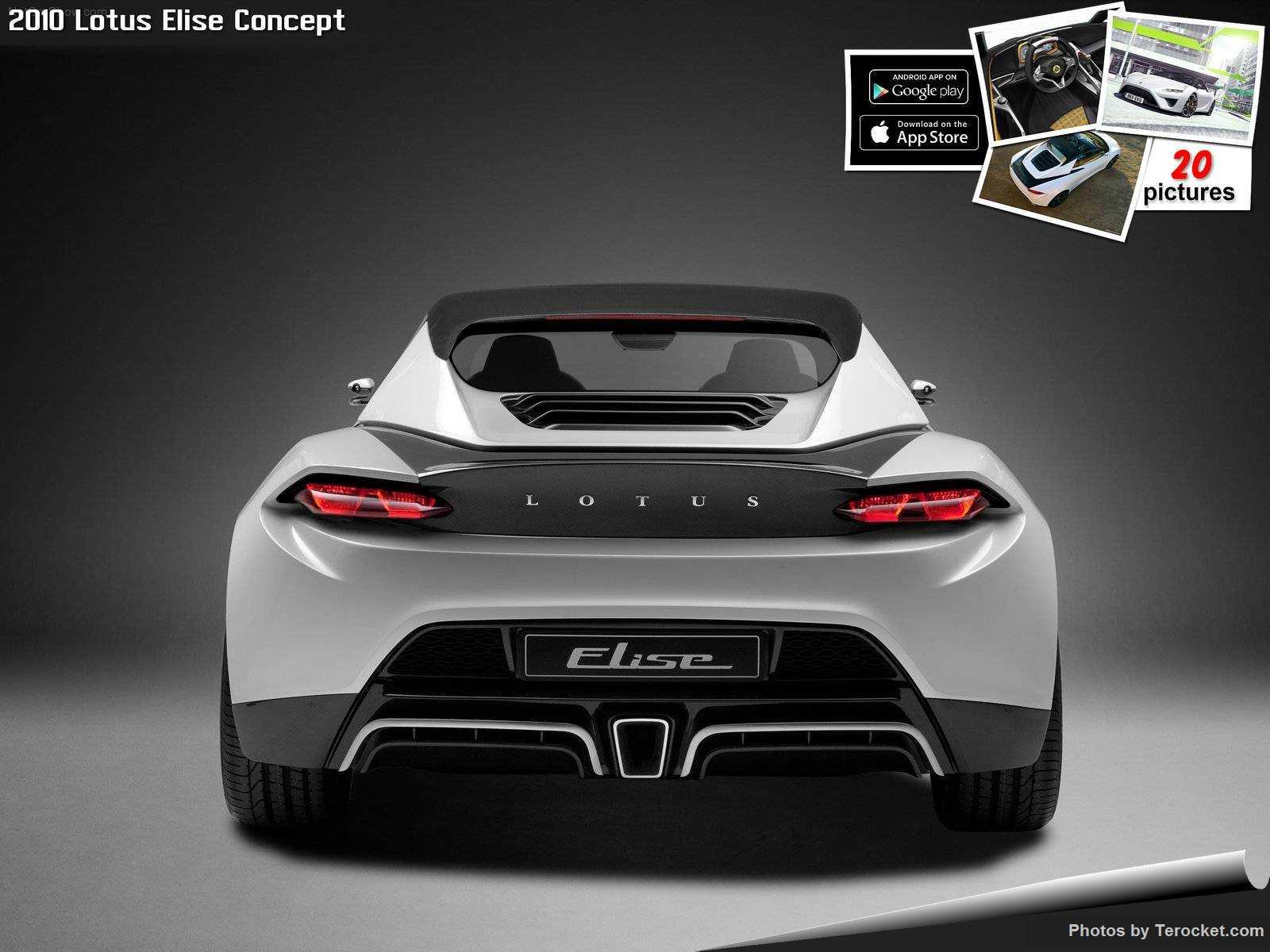 Hình ảnh siêu xe Lotus Elise Concept 2010 & nội ngoại thất