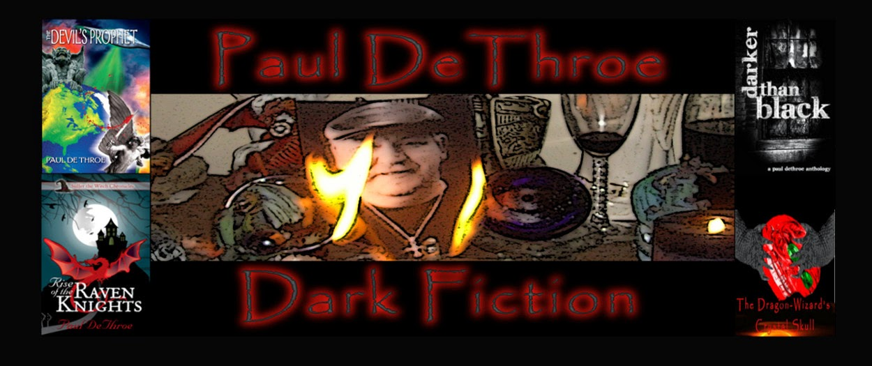 DETHROE'S DARK FICTION BLOG