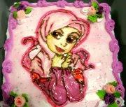drawing cake