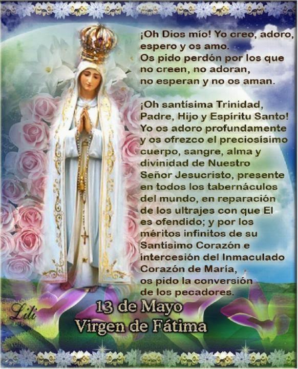 Virgen de Fátima - Mayo 13