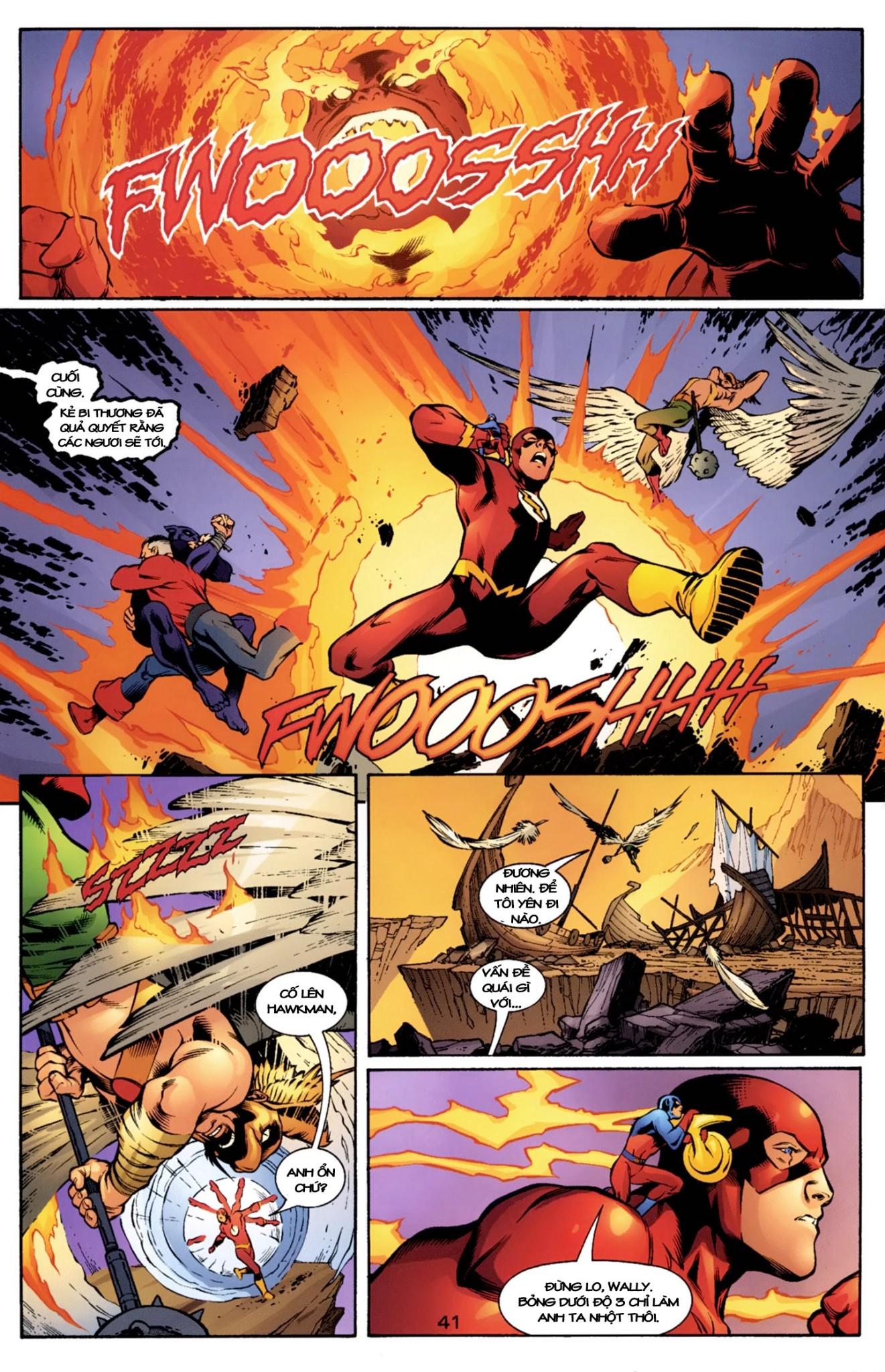 JLA JSA: VIRTUE AND VICE chap 2 - Trang 17