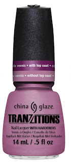 Press release: China Glaze Tranzitions collection