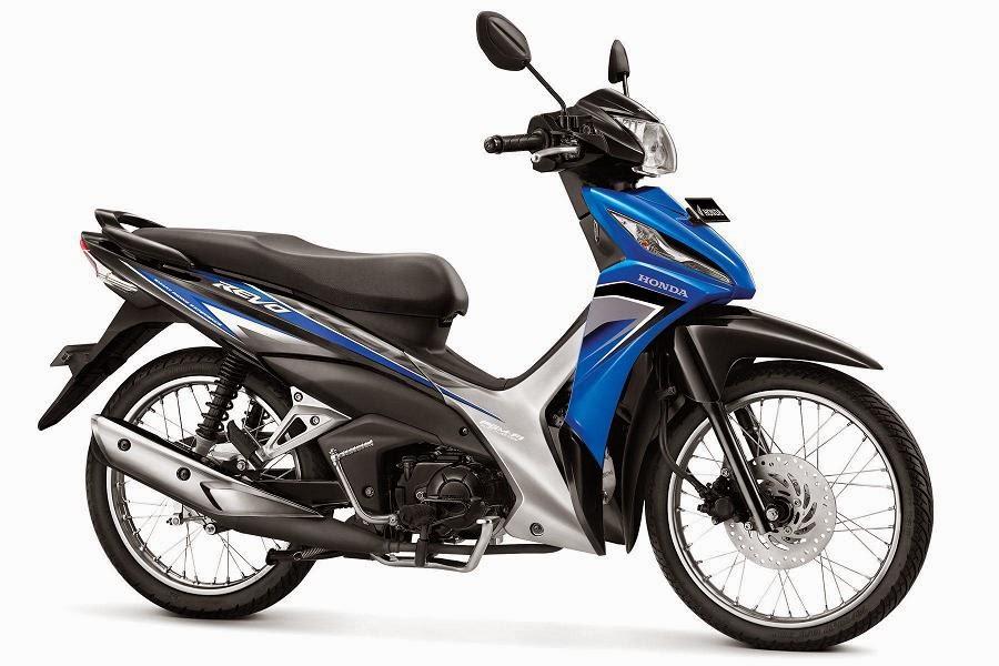 Warna Honda Revo SW PGM-FI biru