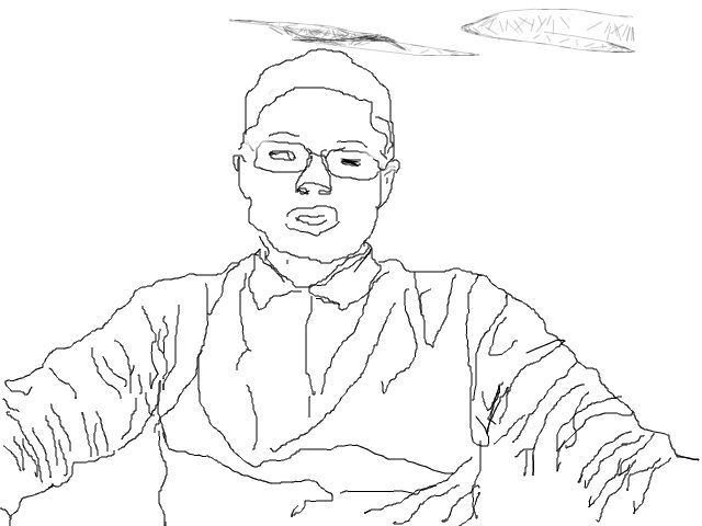Contour Line Drawing Software : Contour line portraits